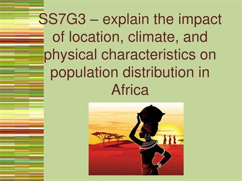 PPT - Africa SS7G2 – discuss environmental issues across