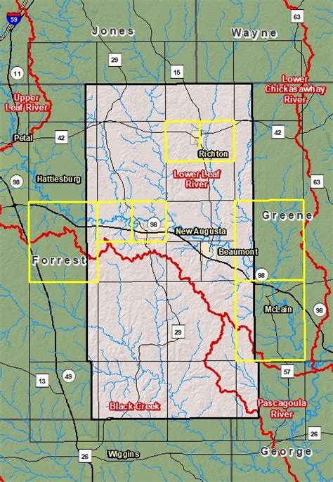 Risk Map - Perry County