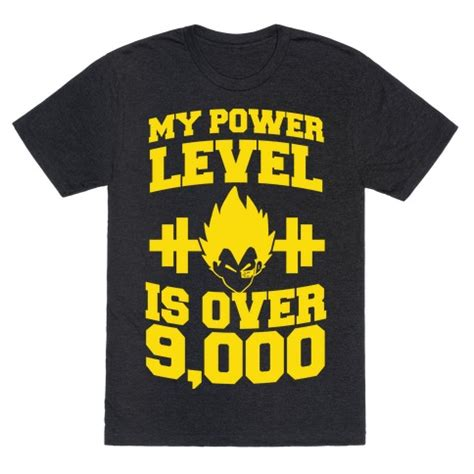 My Power Level is Over 9,000   T-Shirts, Tank Tops