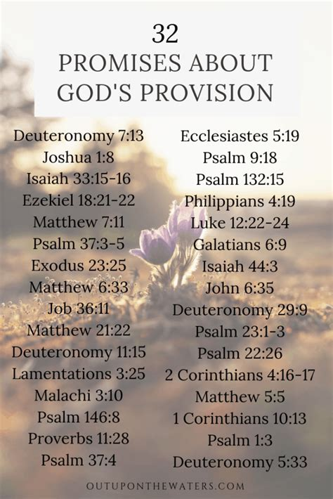162 Promises of God from Scripture - Out Upon the Waters