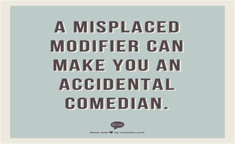 Funny Misplaced Modifiers | Grammar Girl