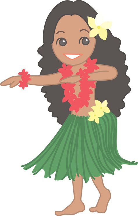 Library of graphic library download hula png files Clipart