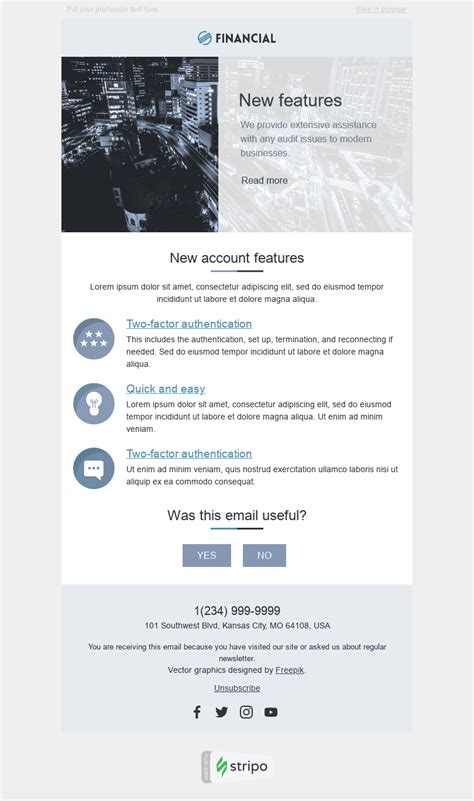 11 Finance Email Templates | Free Finance HTML Email