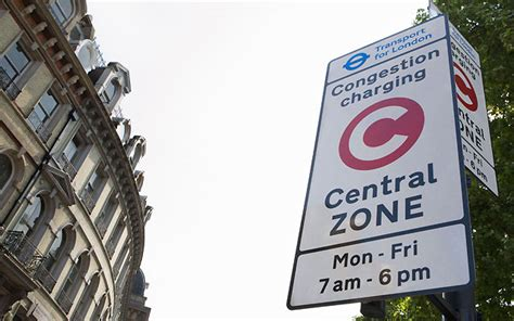 London congestion charge zone   The AA