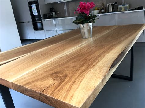 Solid Wood Sessile Oak Table | Timberdeal UK
