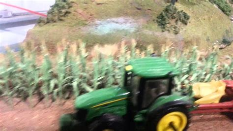 The Now Larger 1/64 Scale Farm Display! - YouTube