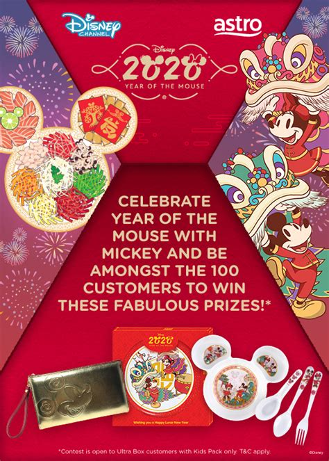 """Be one of 100 winners to receive a Disney's """"Year of the"""