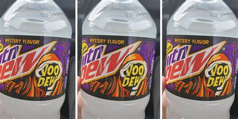 Mountain Dew Is Reportedly Releasing a Mystery Halloween