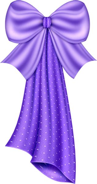 Large Purple Bow Clipart   Gallery Yopriceville - High