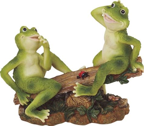 Frog Couple on Seesaw   GSC Imports