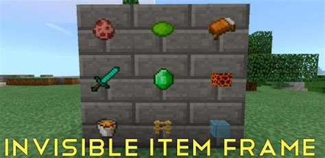 How To Get Invisible Item Frames In Minecraft Pe Command