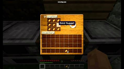 Minecraft: The use of Gold Nuggets! - YouTube