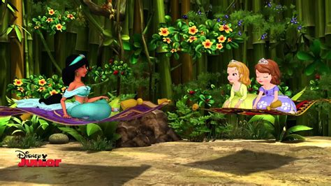 Sofia the First featuring Princess Jasmine - The Ride Of