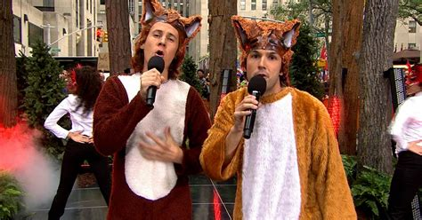 'What Does the Fox Say?' Ylvis answer ultimate question on