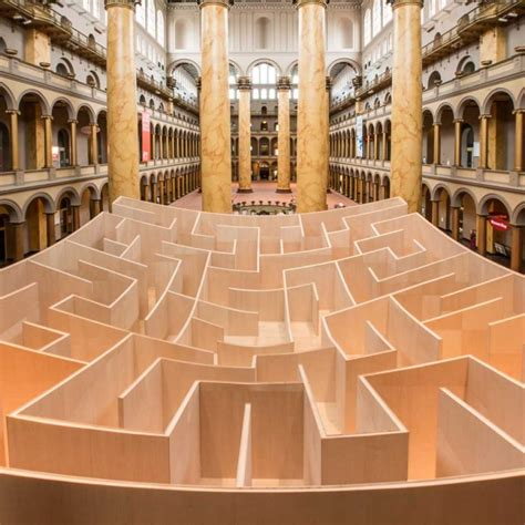 The BIG Maze at the National Building Museum, Summer 2014