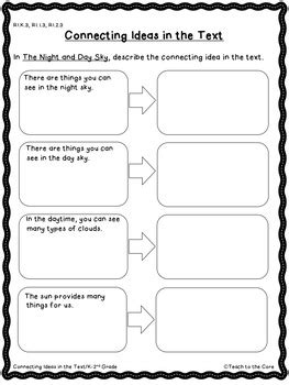 Night and Day Sky Close Reading K-1 w/ Text Passages