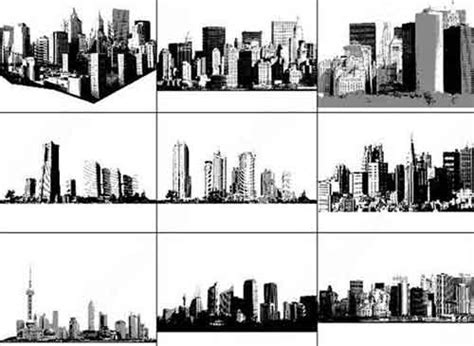 Building Photoshop Brushes for Urban and City Landscape