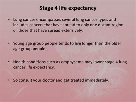 Is fourth stage of lung cancer is curable